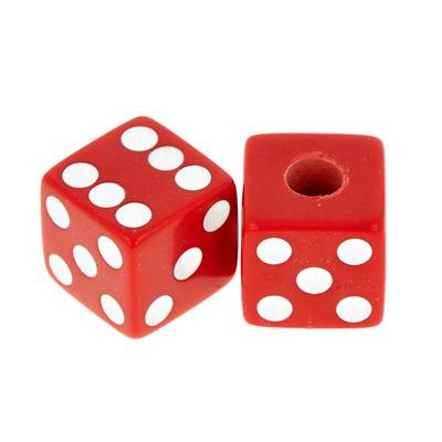 Allparts Dice Knobs Red