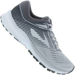 Brooks Tênis Brooks Launch 5 - Feminino - CINZA CLA/CINZA ESC