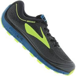 Brooks Tênis Brooks Pure Grit 6 - Masculino - PRETO
