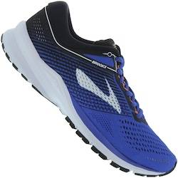 Brooks Tênis Brooks Launch 5 - Masculino - AZUL/BRANCO