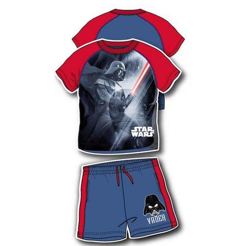 "Lucasfilm Star Wars Shirt und Shorts Set ""Star Wars"" Rot 98"