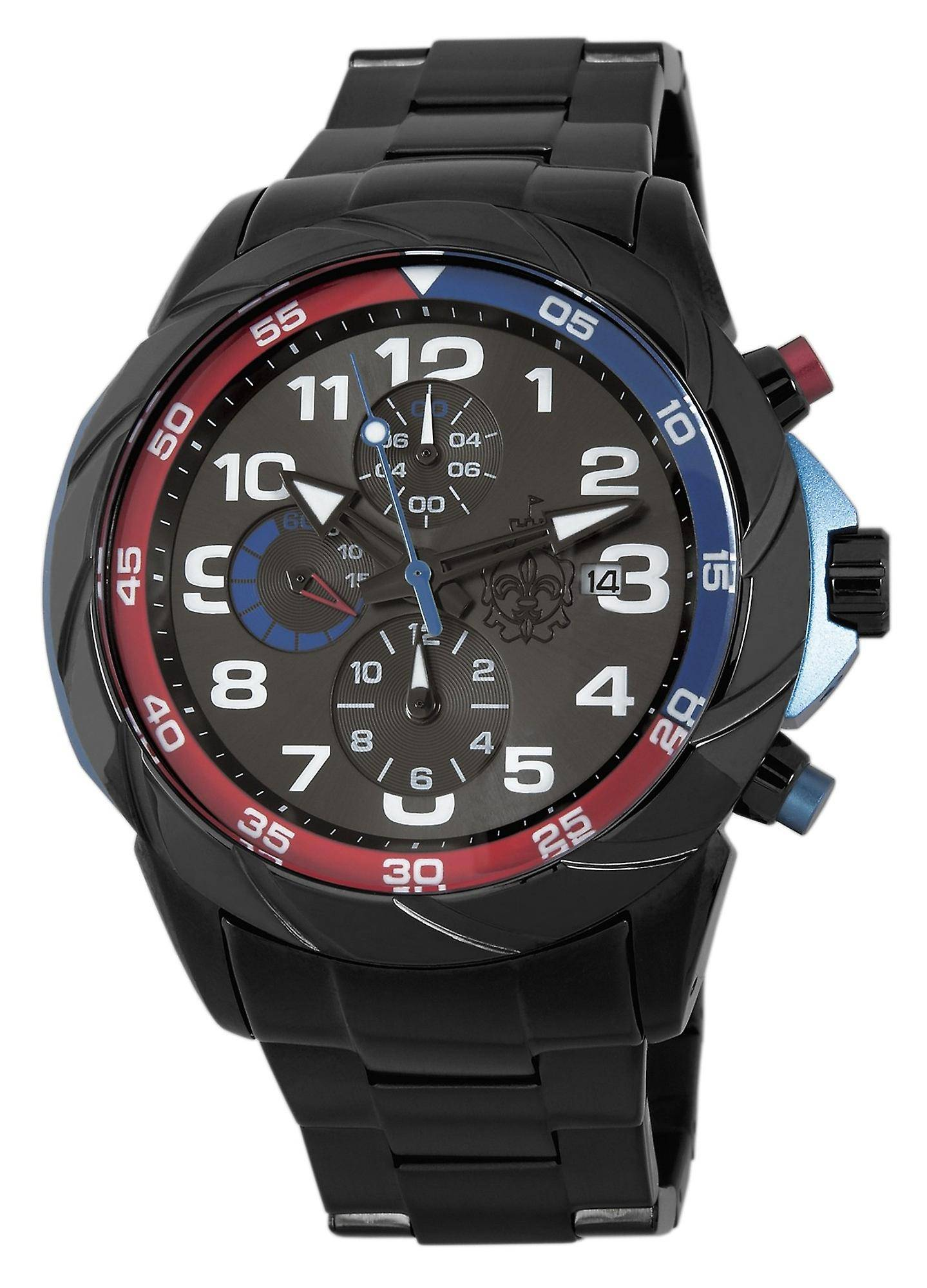 Burgmeister Buenos Aires Gents Chronograph BM702-622 stainless steel