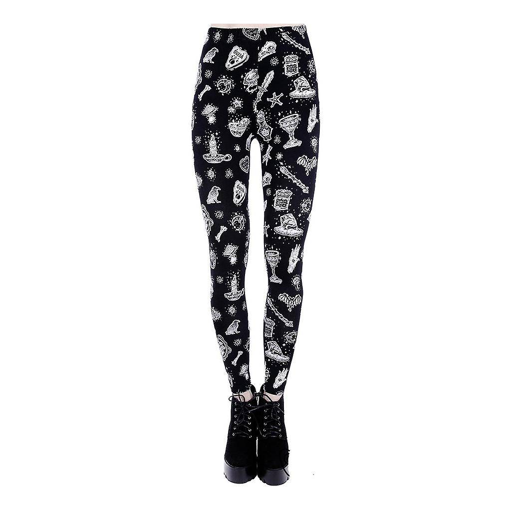 Restyle clothing Restyle - WITCHY LEGGINGS - Womens Leggings Small