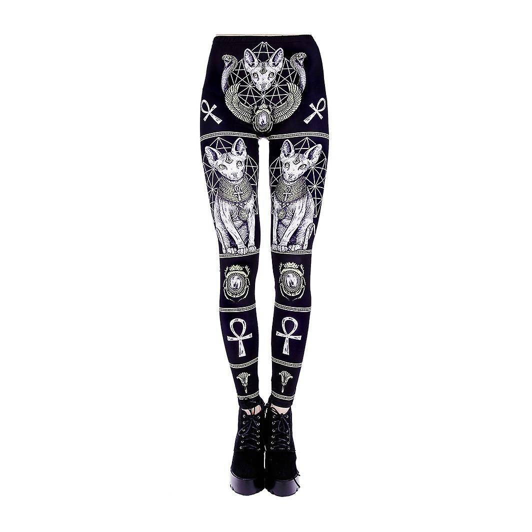 Restyle clothing Restyle - SPHINX LEGGINGS - Womens Leggings Small