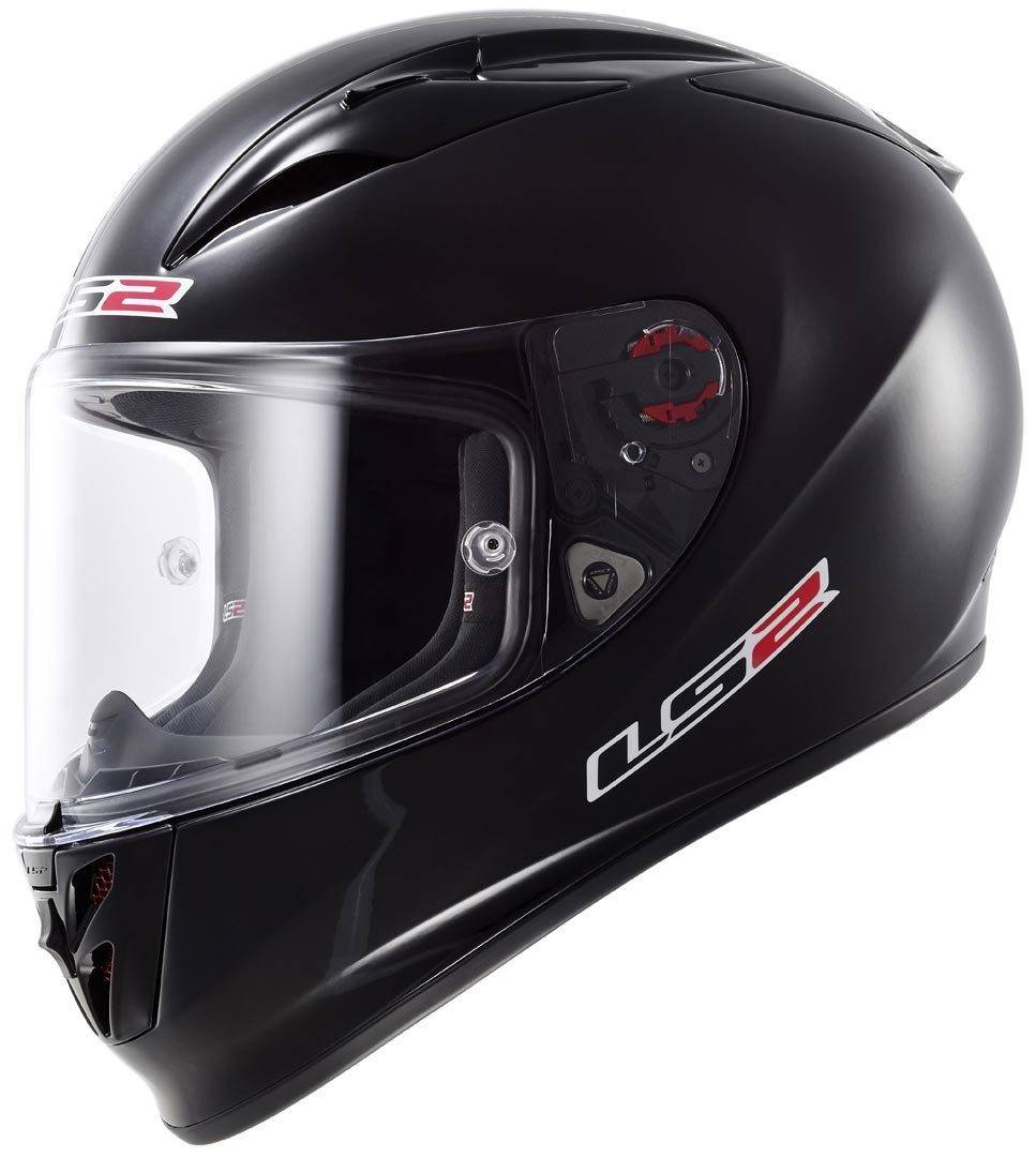 LS2 FF323 Arrow R Helm Schwarz Matt XXL (63/64)