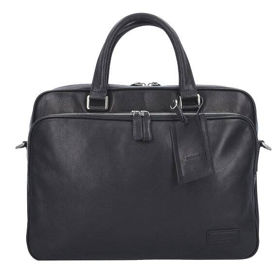 Picard Authentic Aktentasche Leder 38 cm Laptopfach schwarz