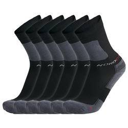 Nordcap Allround-Sportsocken hoch, 6er Pack