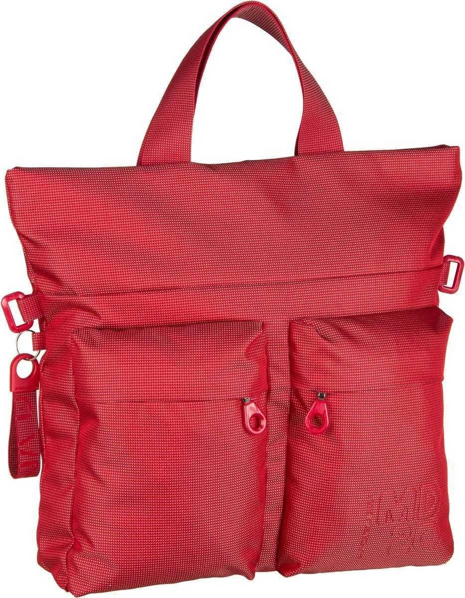 Mandarina Duck Handtasche »MD20 Tote Crossover QMT07«, Flame Scarlet
