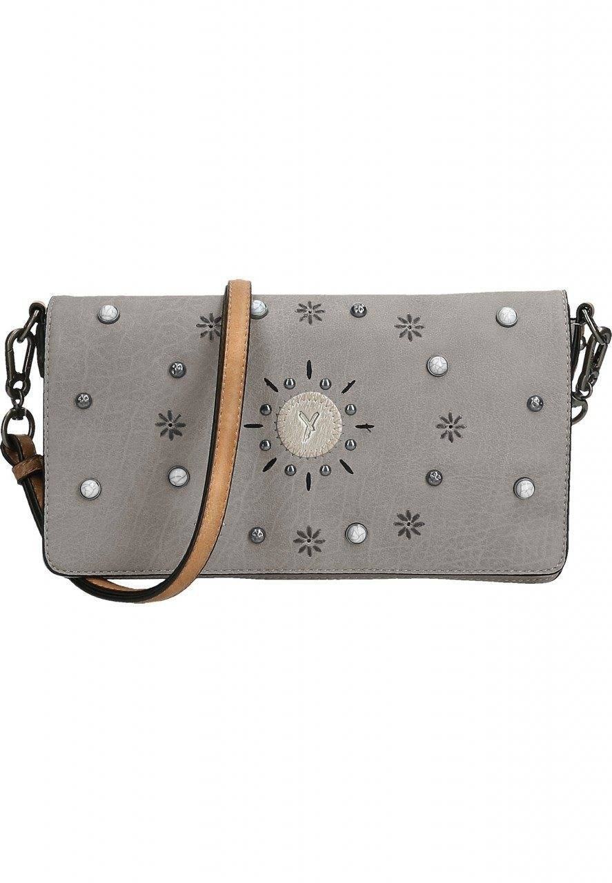 SURI FREY Clutch »No.1 Ashley«, dunkelgrau