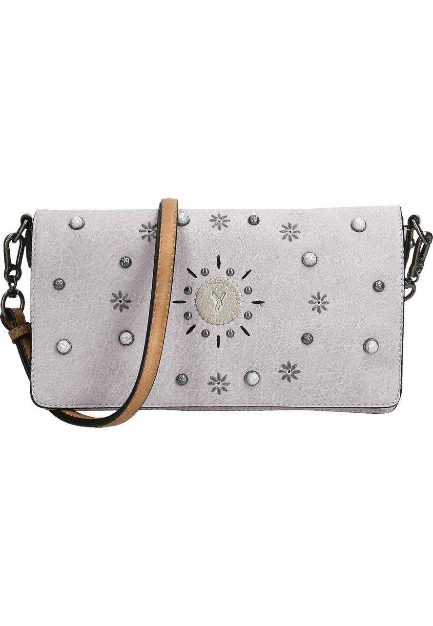 SURI FREY Clutch »No.1 Ashley«, hellgrau