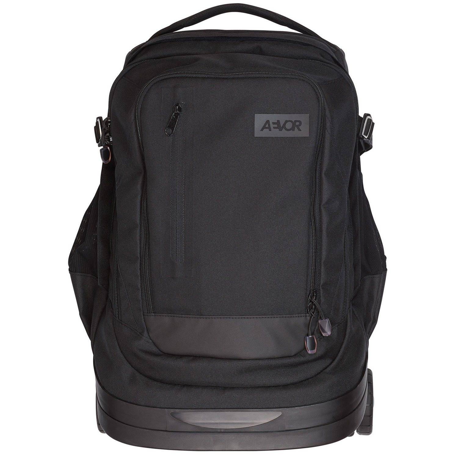 AEVOR 2-Rollen Rucksack Trolley 49 cm, black eclipse
