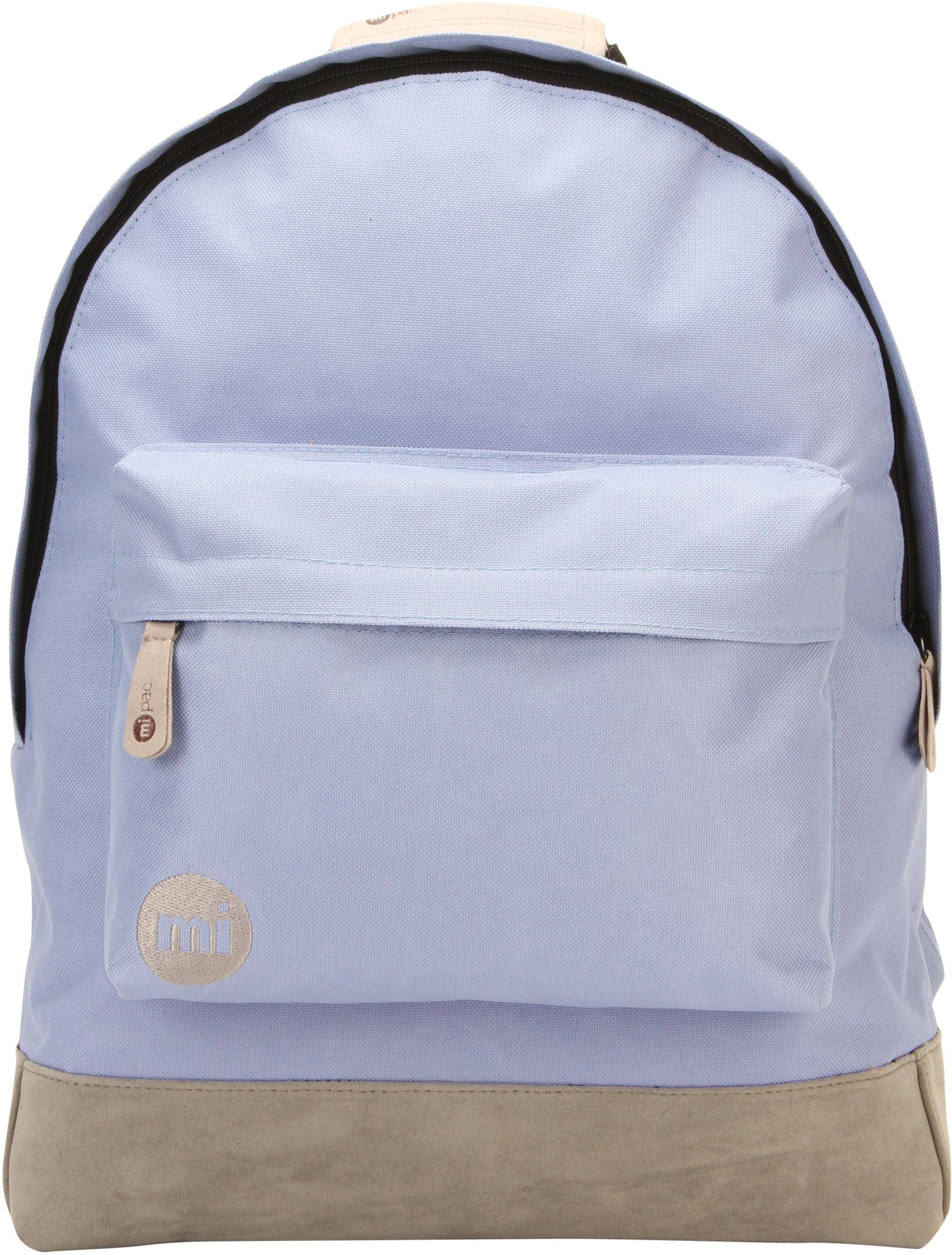 Mi-Pac mi pac. Rucksack mit Laptopfach, »Classic, cornflower blue/grey«, cornflower blue/grey