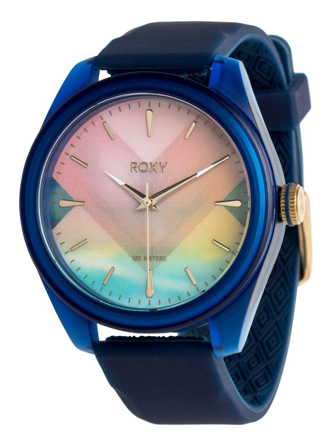 Roxy Analoge Uhr Popadopalis Blue depths