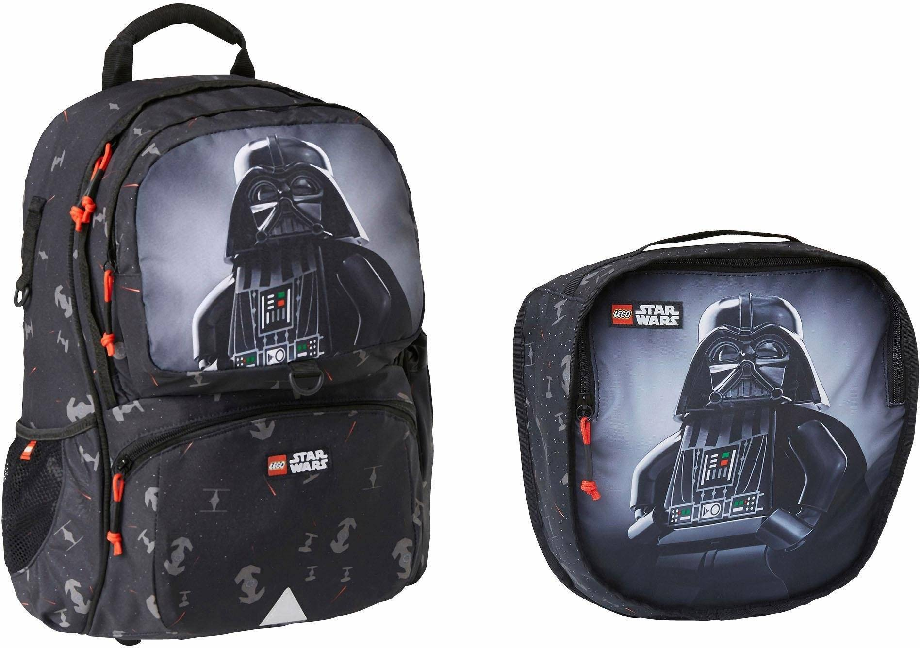 Lego Schulrucksack Set 2-tlg., »Freshmen, Star Wars™, Darth Vader«, darth vader