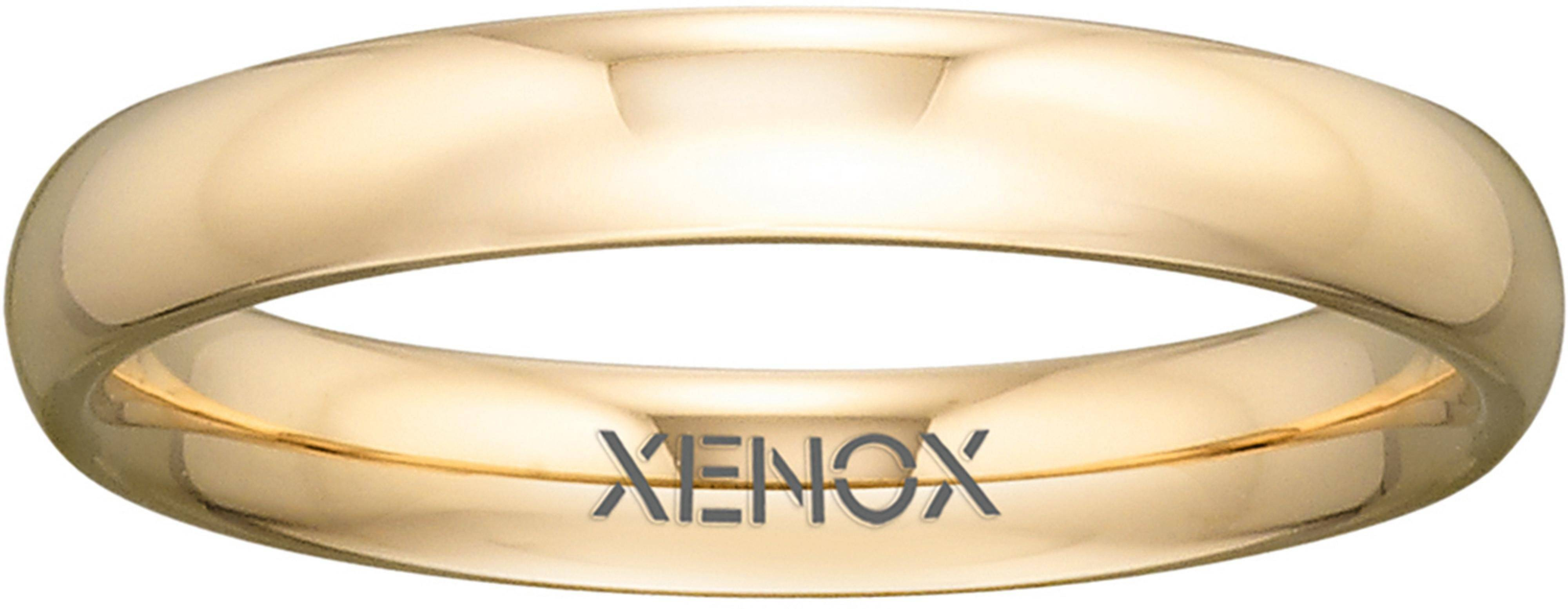 XENOX Partnerring »& Friends, X2306«, goldfarben