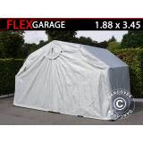 Dancover Foldegarage (MC), 1,88x3,45x1,9m, Grå