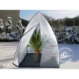 Dancover Overvintrings drivhus, Igloo, 1,2x1,2x1,8m