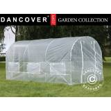 Dancover Polytunnel Drivhus 2x4,5x2m,Transparent