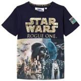 Fabric Flavours Rouge One Foil Poster Print T-shirt Marinblå 9-10 years