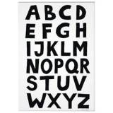 Tellkiddo ABC A3 Poster One Size