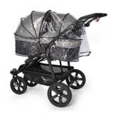 TFK Single Rain Cover Twin/DuoX Carrycot One Size