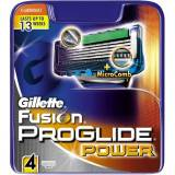 Gillette Fusion Proglide Power Barberblade 4 stk Barberblade