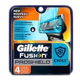 Gillette Fusion Proshield Chill Barberblade 4 stk Barberblade