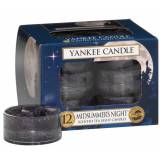 Yankee Candle Classic Tea Lights Midsummer Night Candle 12 stk Duftlys