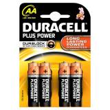 Duracell AA Duralock Plus Power 4 stk Batterier