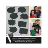 Vegaoo Photobooth kit talebobler One-size