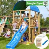 overskrift Jungle Gym Farm legetårn blå (Jungle gym 063003)