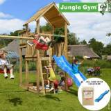 overskrift Jungle Gym Palace legetårn blå (Jungle gym 069838)