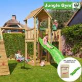 overskrift Jungle Gym Mansion legetårn grøn (Jungle gym 069913)
