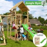 overskrift Jungle Gym Palace legetårn grøn (Jungle gym 069944)