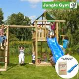 overskrift Jungle Gym Lodge legetårn blå (Jungle gym 069982)