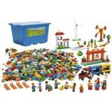 overskrift City Kæmpe start sæt, Lego Education (Lego Education 9389)