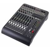 RCF Livepad 12C mixer, 6 Mic + 4 x Stereo Line