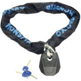 Oxford Monster XL Chain and Padlock Negro 200 cm