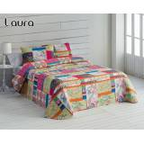 HOME Colcha patchwork reversible Laura