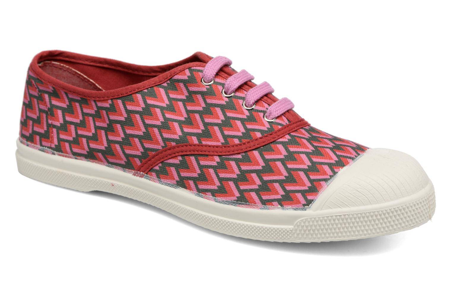 Bensimon Tennis Retro Triangle - Baskets Femme, Rose