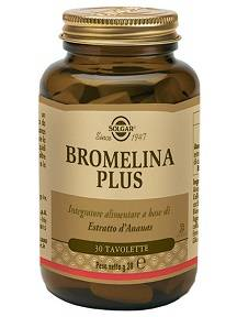 SOLGAR IT. MULTINUTRIENT SpA BROMELINA PLUS 30 TAV