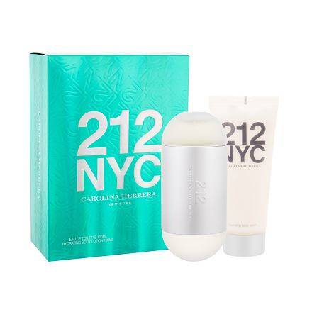Carolina Herrera 212 NYC confezione regalo Eau de Toilette 100 ml +...