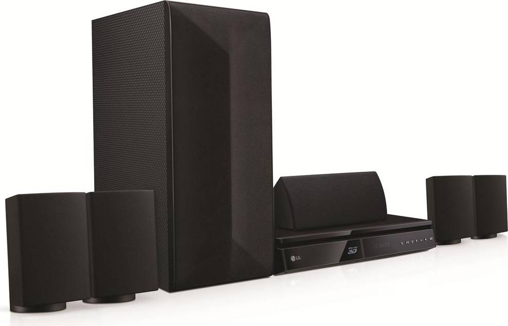 LG Lhb625 Home Theatre 5.1 Dolby Surround Potenza 1000 Watt Subwoofer Lettore...