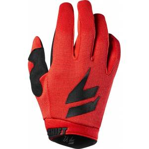 Shift WHIT3 Air Youth Guanti Nero/Rosso S
