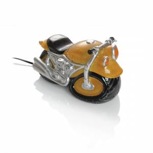Booster Cast Stone Table Lamp Motorbike Giallo