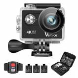 Offerta Vemico Action Cam, Vemico 4K Action Came...