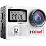 Offerta HDCool Action Cam 4K 20MP Wifi Action Ca...