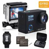 Offerta IXROAD Action Cam 4K Gyro WiFi Action Ca...