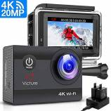 Offerta Victure Action Cam 20MP Ultra HD 4K Wi-F...