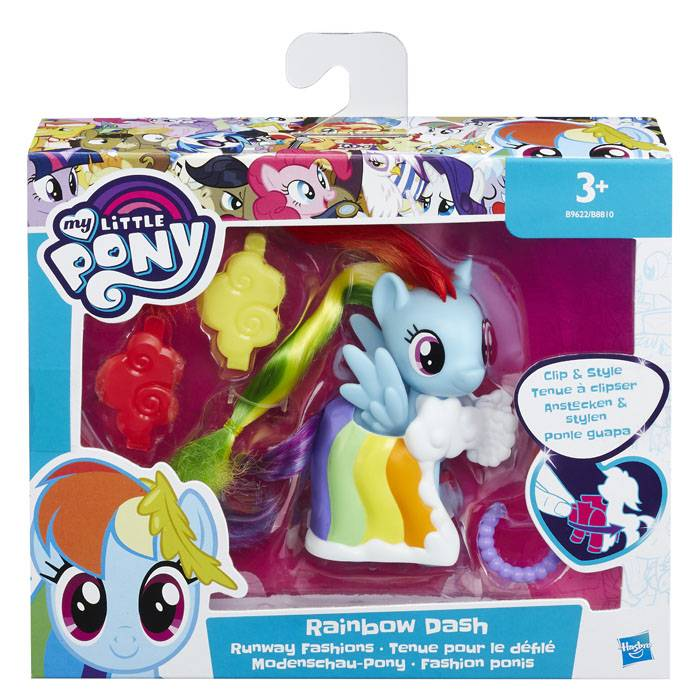 My Little Pony Fashion Raimbow Dash